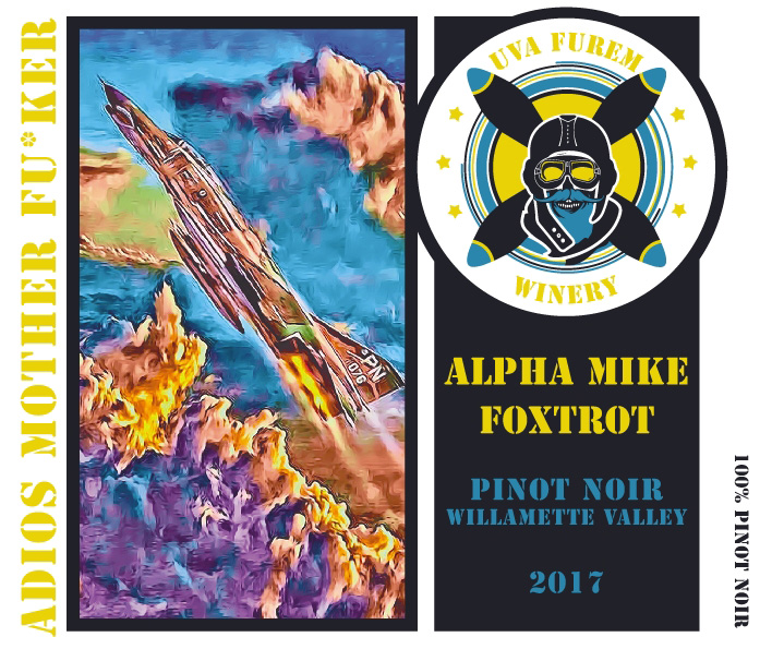 "Product Image for 2017 ""AMF"" Pinot Noir"
