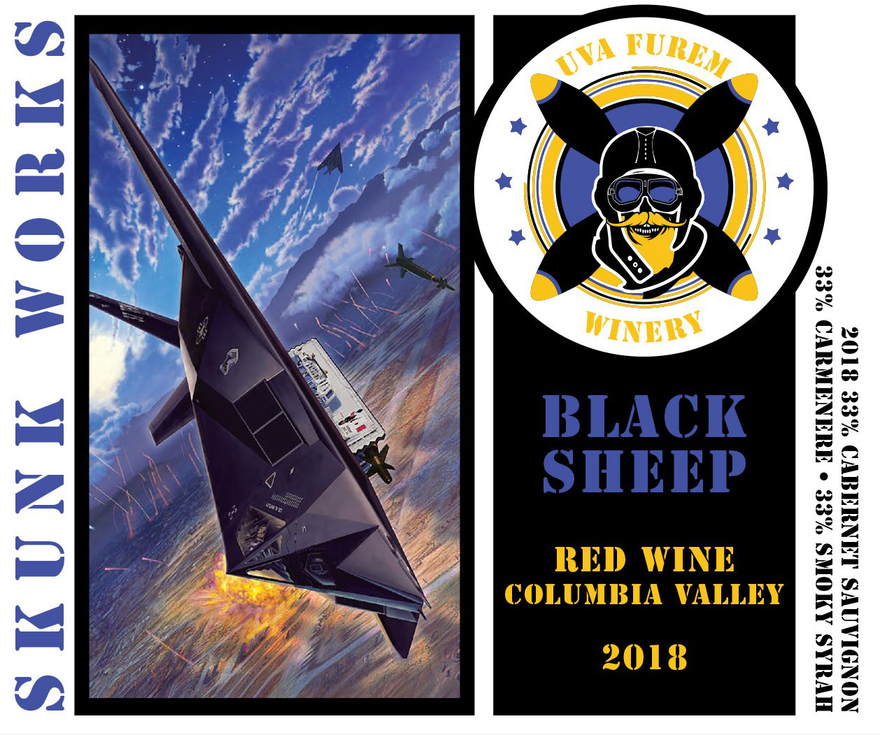Product Image for 2018 Black Sheep' Smoked Red Blend