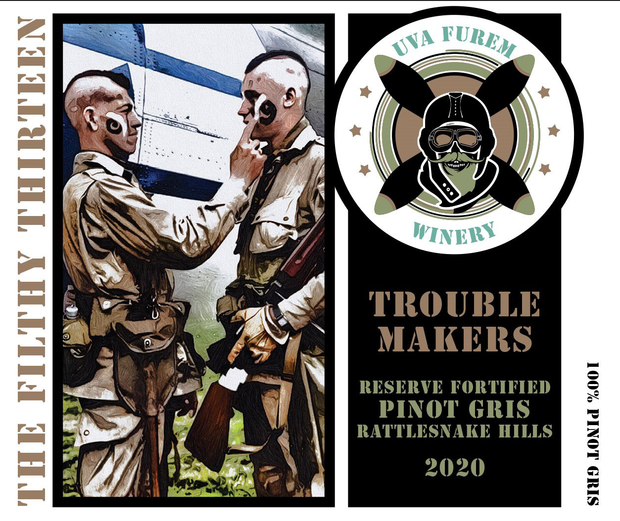 Product Image for 2020 'Troublemakers' fortified Pinot Gris
